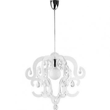 Katerina  Lampa wisząca – kryształowe – kolor transparentny