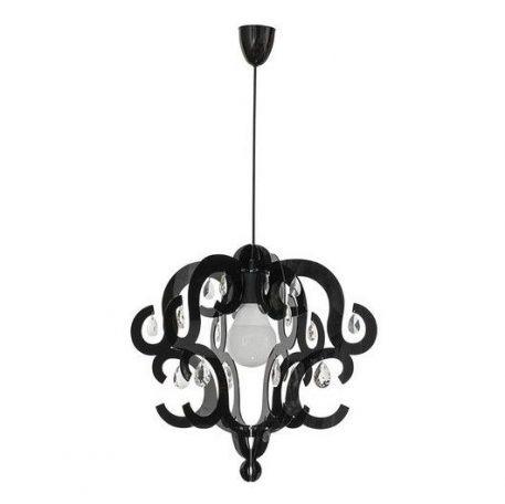 Katerina  Lampa wisząca – Styl glamour – kolor Czarny