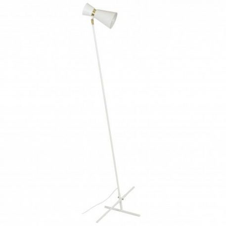 Kedar  Lampa podłogowa – Styl nowoczesny – kolor biały