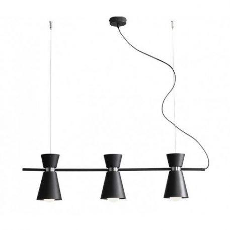 Kedar  Lampa wisząca – Styl nowoczesny – kolor Czarny