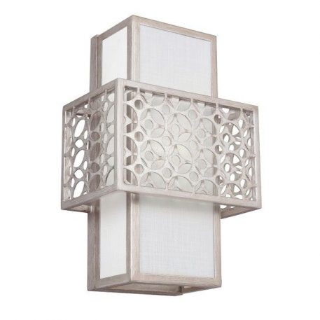 Kenney  Lampa modern classic – Styl modern classic – kolor biały, srebrny