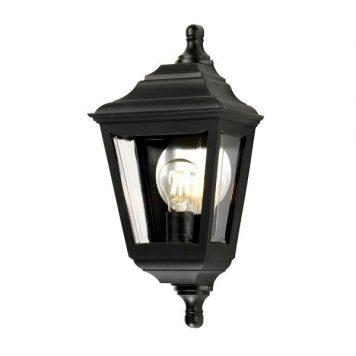 Kerry  Lampa zewnętrzna – szklane – kolor transparentny, Czarny