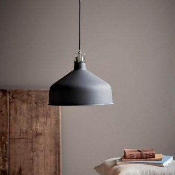 Kingston  Lampa wisząca – Styl skandynawski – kolor Czarny