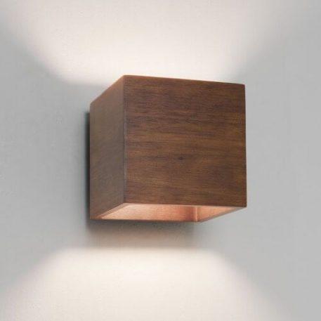 Kinkiet Styl nowoczesny brązowy  - Salon