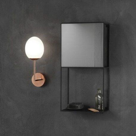 Kiwi Lampa nowoczesna – Styl nowoczesny – kolor biały, miedź