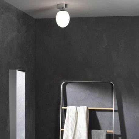 Kiwi Lampa sufitowa – Plafony – kolor biały, srebrny