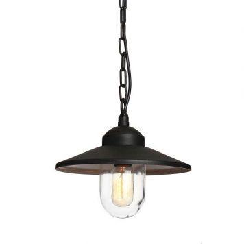Klampenborg  Lampa zewnętrzna – szklane – kolor Czarny