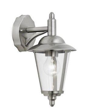 Klien  Lampa zewnętrzna – klasyczny – kolor srebrny, transparentny