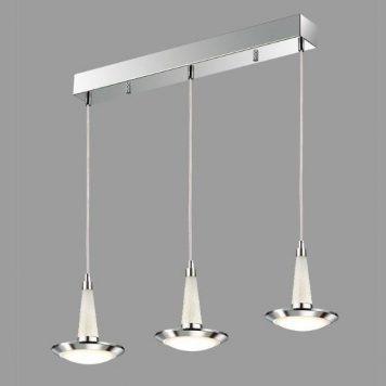 Kobe  Lampa wisząca – Lampy i oświetlenie LED – kolor srebrny