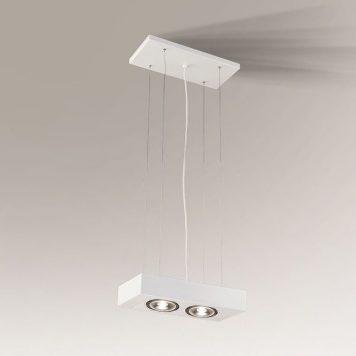 Koga Lampa wisząca – Styl nowoczesny – kolor biały
