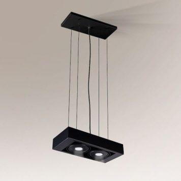 Koga Lampa wisząca – Styl nowoczesny – kolor Czarny