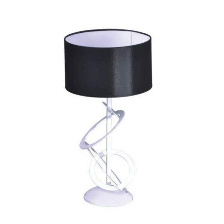 Korfu Lampa nowoczesna – Styl nowoczesny – kolor biały, Czarny