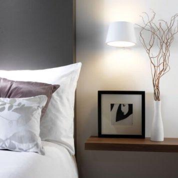 Koza Kinkiet – Styl nowoczesny – kolor biały