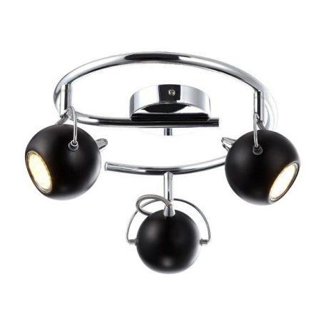 Kula Lampa sufitowa – Reflektory – kolor srebrny, Czarny