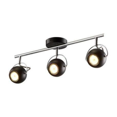 Kula  Lampa sufitowa – Styl nowoczesny – kolor srebrny, Czarny