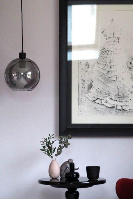 Kyoto Lampa wisząca – Styl nowoczesny – kolor transparentny, Szary