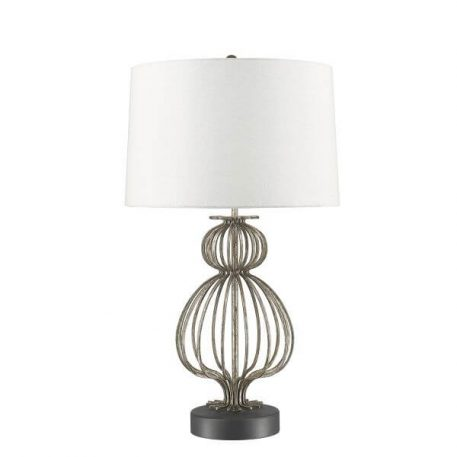 Lafitte Lampa modern classic – Styl modern classic – kolor biały, srebrny