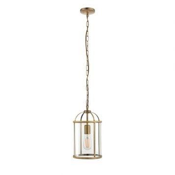 Lamberth Lampa wisząca – klasyczny – kolor transparentny, złoty