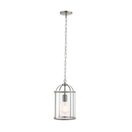Lambeth Lampa wisząca – szklane – kolor srebrny, transparentny