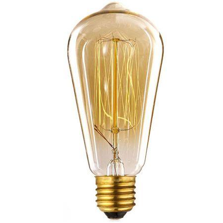 Lampa industrialna industrialny mosiądz, złoty, Czarny  - Salon