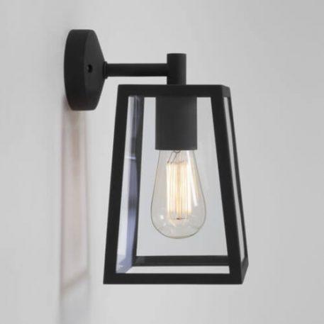 Lampa industrialna industrialny transparentny, Czarny  - Kuchnia