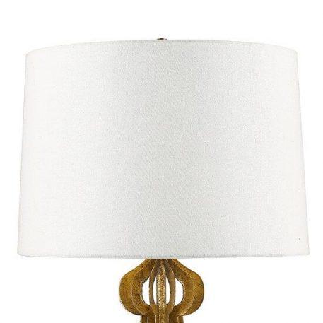 Lampa klasyczna klasyczny beżowy, biały, złoty  - Sypialnia