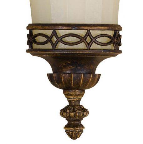 Lampa klasyczna klasyczny beżowy, brązowy  - Sypialnia
