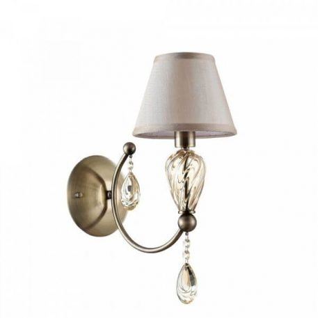 Lampa klasyczna Murano do sypialni