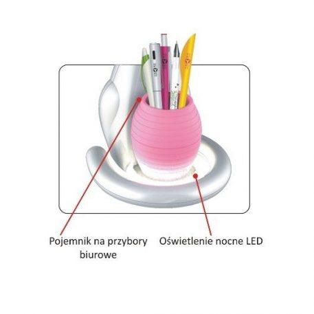 Lampa LED - K-BL-1607 RÓZOWY