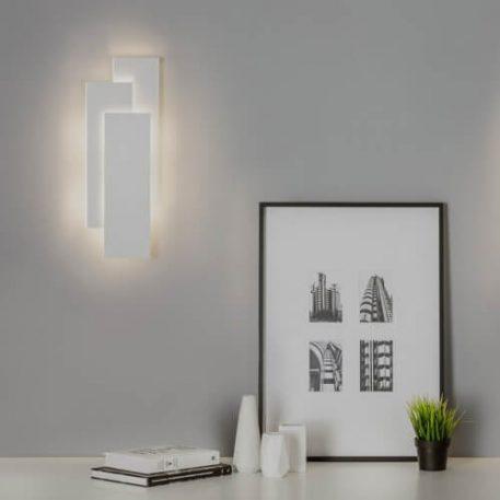 Lampa LED - metal - biały mat - Astro