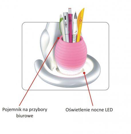Lampa LED - plastik - Kaja