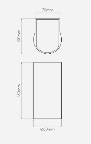 Lampa LED Styl nowoczesny srebrny, Szary  - Sypialnia