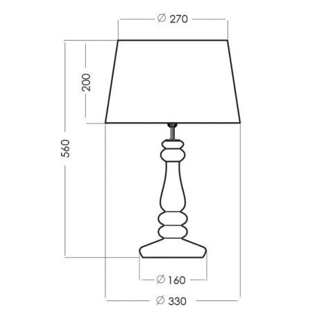 Lampa modern classic Styl glamour biały, srebrny  - Salon