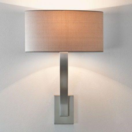 Lampa modern classic Styl modern classic srebrny  - Sypialnia