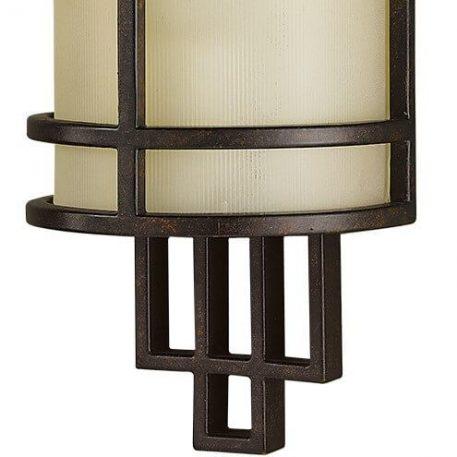 Lampa modern classic szklane beżowy, brązowy  - Sypialnia