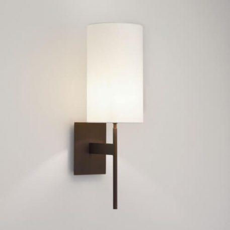 Lampa modern classic Z abażurem brązowy  - Salon