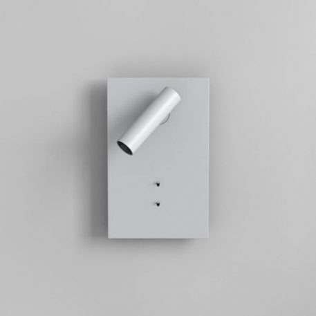 Lampa nowoczesna - biały metal - mat - Astro
