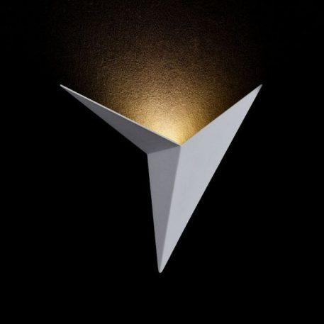 Lampa nowoczesna - biały metal - Maytoni