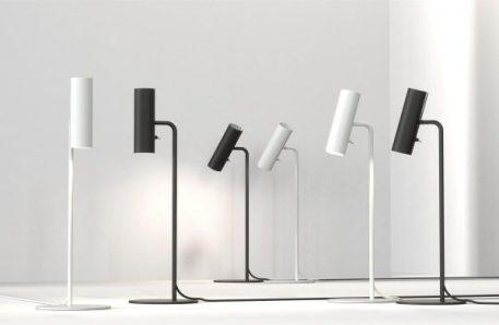 Lampa nowoczesna Biurkowe biały  - Salon