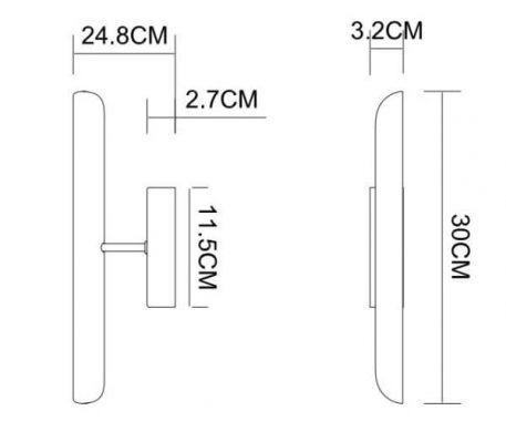 Lampa nowoczesna - chrom - Zuma Line