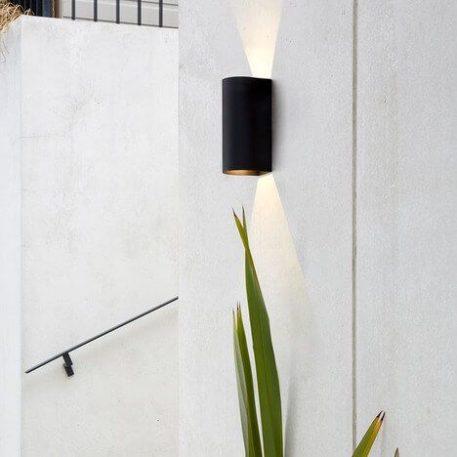 Lampa nowoczesna - czarna tekstura - Astro
