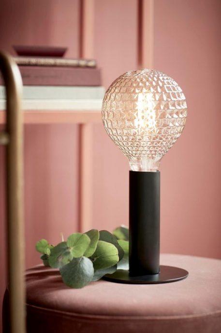 Lampa nowoczesna - czarny metal - Nordlux