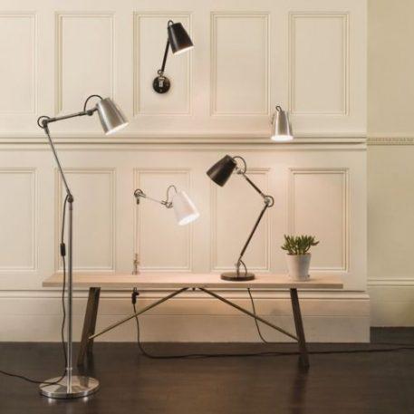 Lampa nowoczesna Do czytania srebrny  - Salon