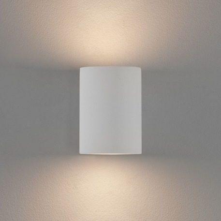 Lampa nowoczesna Gipsowe biały  - Salon