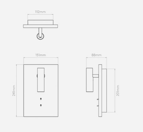 Lampa nowoczesna Lampy i oświetlenie LED biały  - Sypialnia