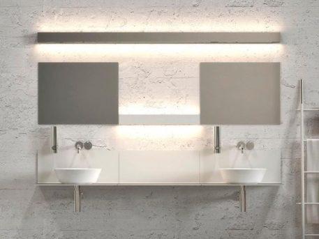 Lampa nowoczesna - Lampy i oświetlenie LED - biały -  - Sypialnia