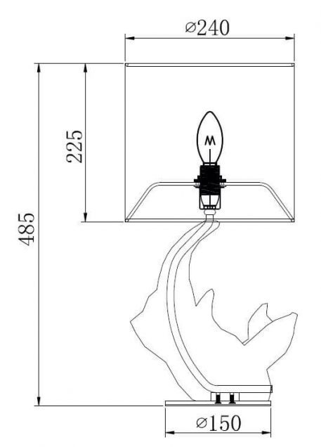 Lampa nowoczesna - MOD470-TL-01-W