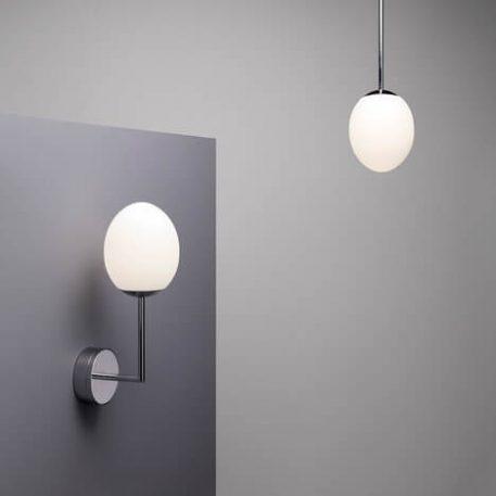 Lampa nowoczesna - polerowany chrom - Astro