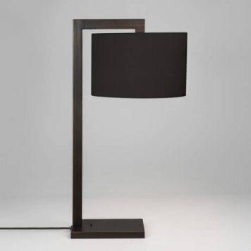 Ravello Lampa nowoczesna – Z abażurem – kolor brązowy