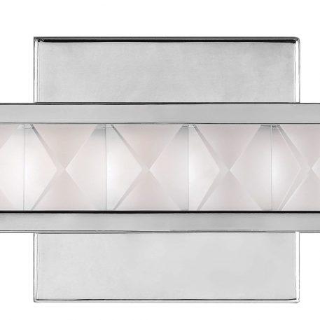 Lampa nowoczesna Styl glamour srebrny  - Salon